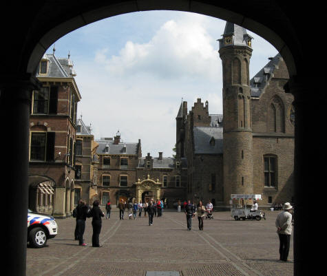 Binnenhof in the Hague (Den Haag)