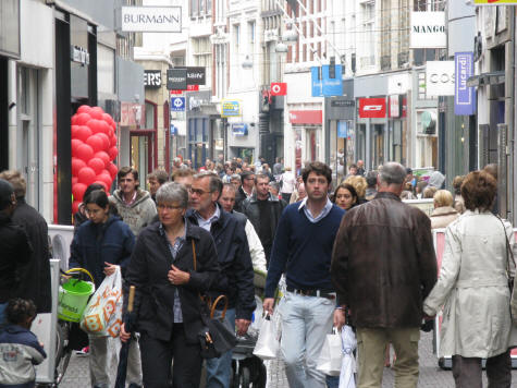 Shopping in The Hague (Den Haag)